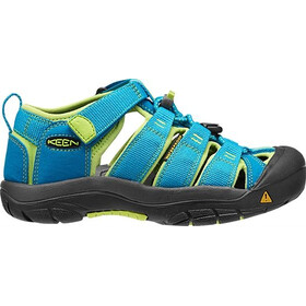 Keen Newport H2 Sandals Ungdom hawaiian blue/green glow